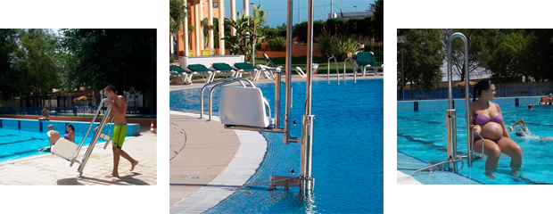 Silla de piscinas discapacitados pk alicante for Piscina alicante